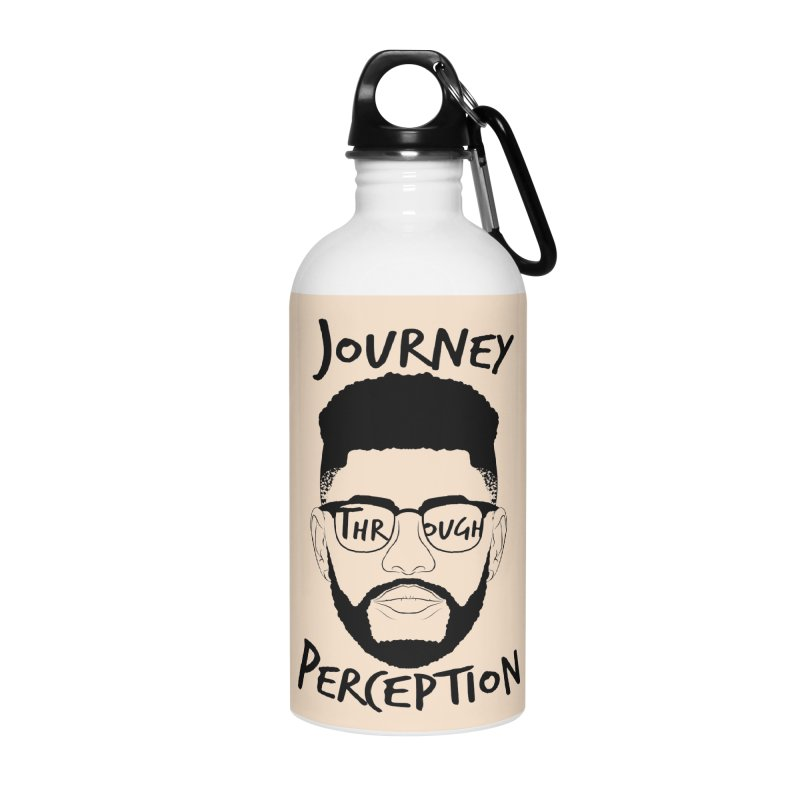 Journey Through Perception (Khaliq Vision) Accessories Water Bottle by khaliqsim's Artist Shop
