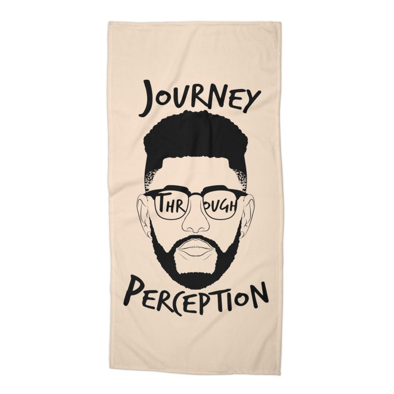 Journey Through Perception (Khaliq Vision) Accessories Beach Towel by khaliqsim's Artist Shop