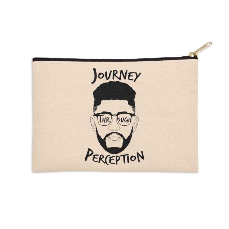 Journey Through Perception (Khaliq Vision) Accessories Zip Pouch by khaliqsim's Artist Shop
