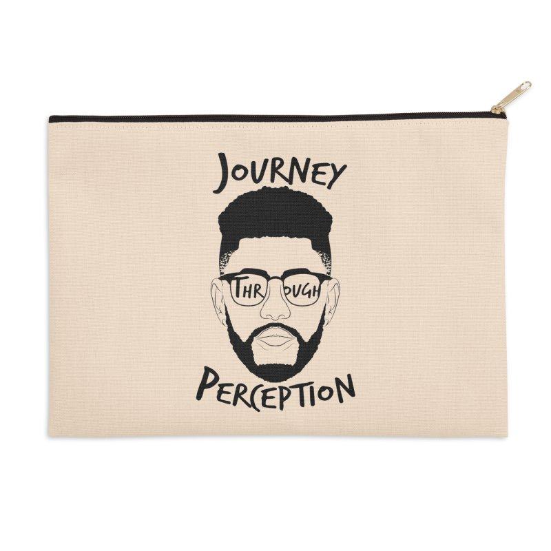 Journey Through Perception (Khaliq Vision) Accessories Zip Pouch by khaliqsim's Artist Shop