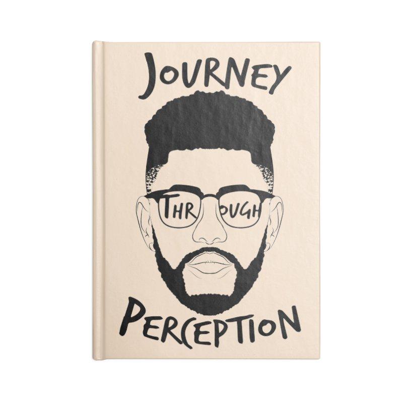 Journey Through Perception (Khaliq Vision) Accessories Notebook by khaliqsim's Artist Shop