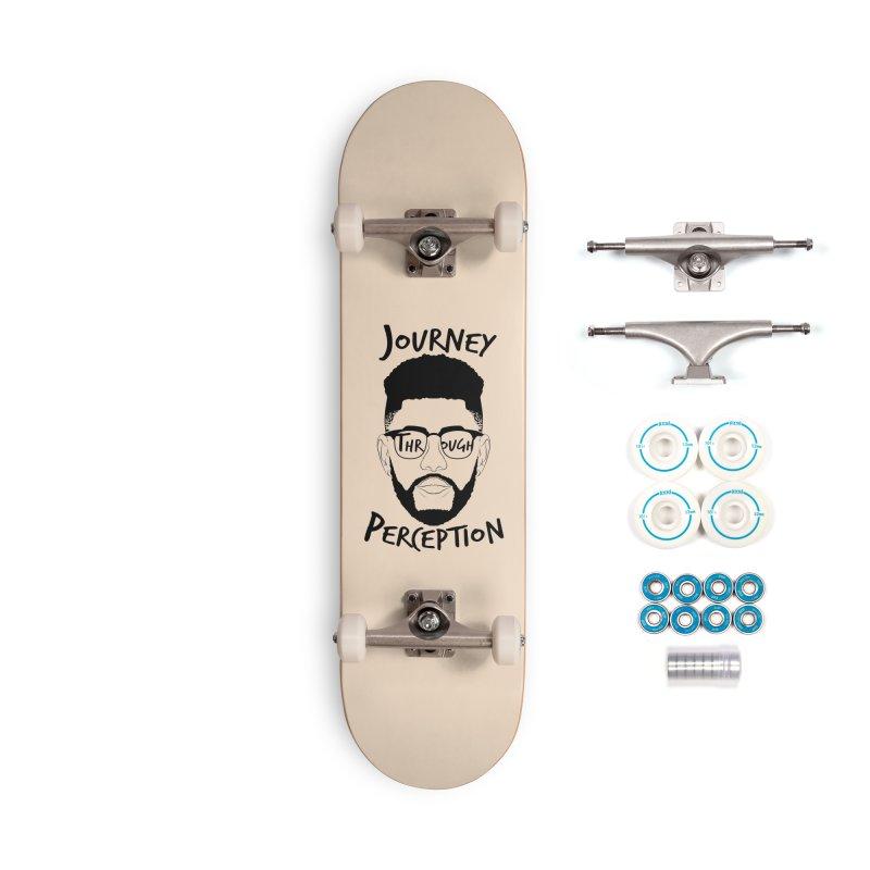 Journey Through Perception (Khaliq Vision) Accessories Skateboard by khaliqsim's Artist Shop