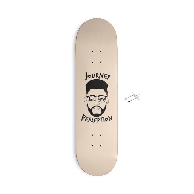 Journey Through Perception (Khaliq Vision) Accessories With Hanging Hardware Skateboard by khaliqsim's Artist Shop