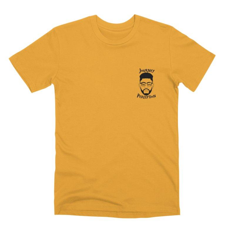 Journey Through Perception (Khaliq Vision) Men's Premium T-Shirt by khaliqsim's Artist Shop