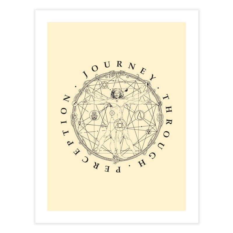 Journey Through Perception (Symbol) Home Fine Art Print by khaliqsim's Artist Shop