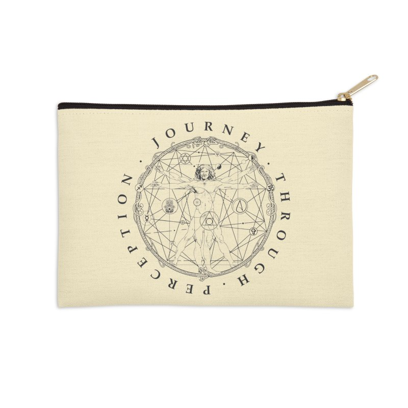 Journey Through Perception (Symbol) Accessories Zip Pouch by khaliqsim's Artist Shop