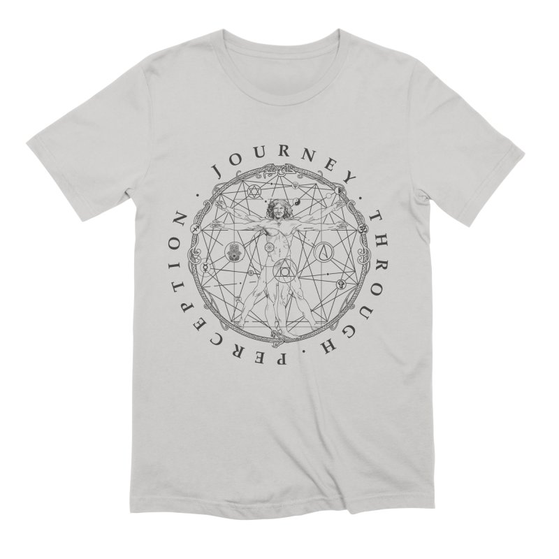 Journey Through Perception (Symbol) Men's Extra Soft T-Shirt by khaliqsim's Artist Shop