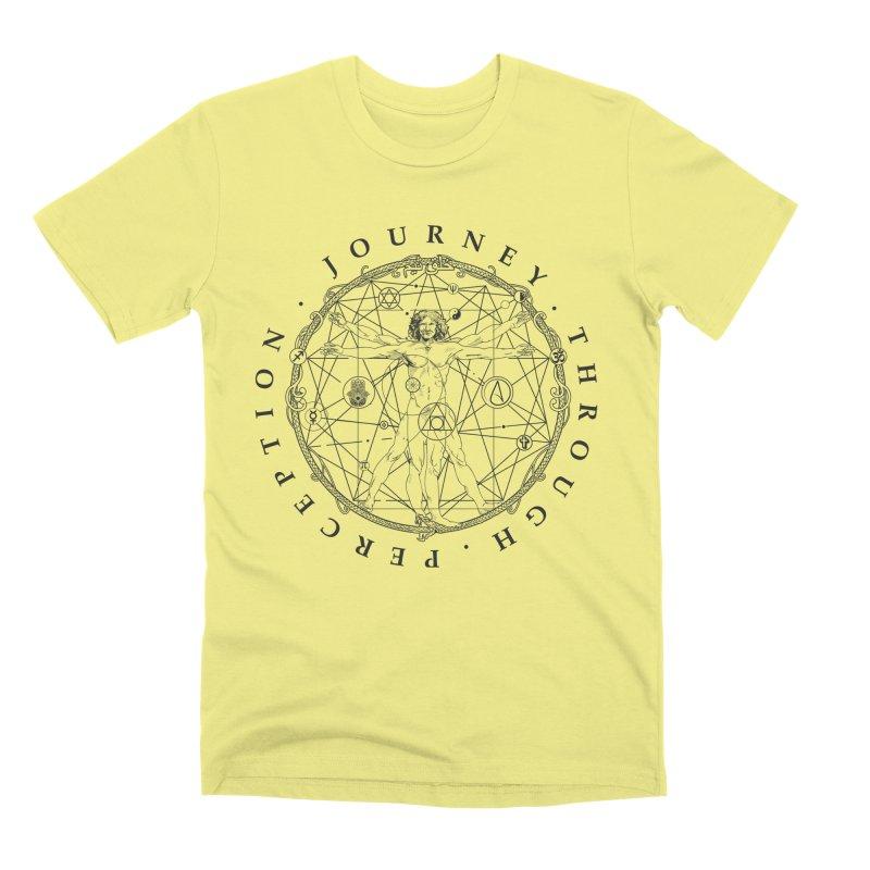 Journey Through Perception (Symbol) Men's Premium T-Shirt by khaliqsim's Artist Shop