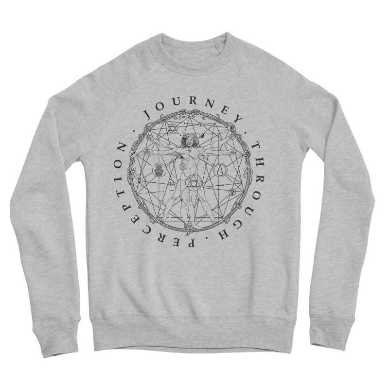 Journey Through Perception (Symbol) Women's Sponge Fleece Sweatshirt by khaliqsim's Artist Shop