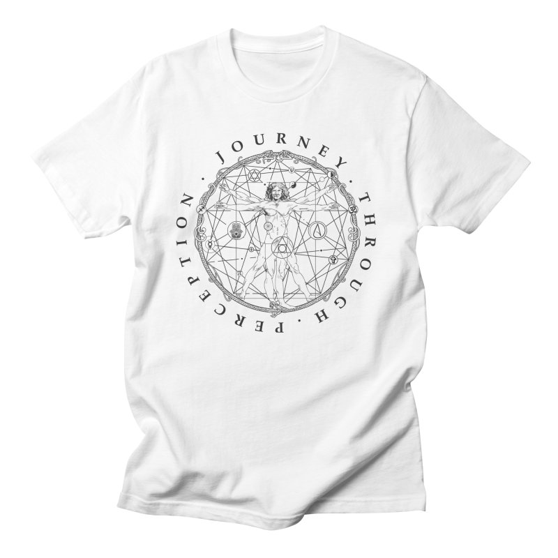 Journey Through Perception (Symbol) Men's T-Shirt by khaliqsim's Artist Shop