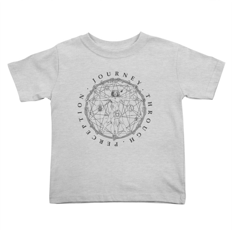 Journey Through Perception (Symbol) Kids Toddler T-Shirt by khaliqsim's Artist Shop