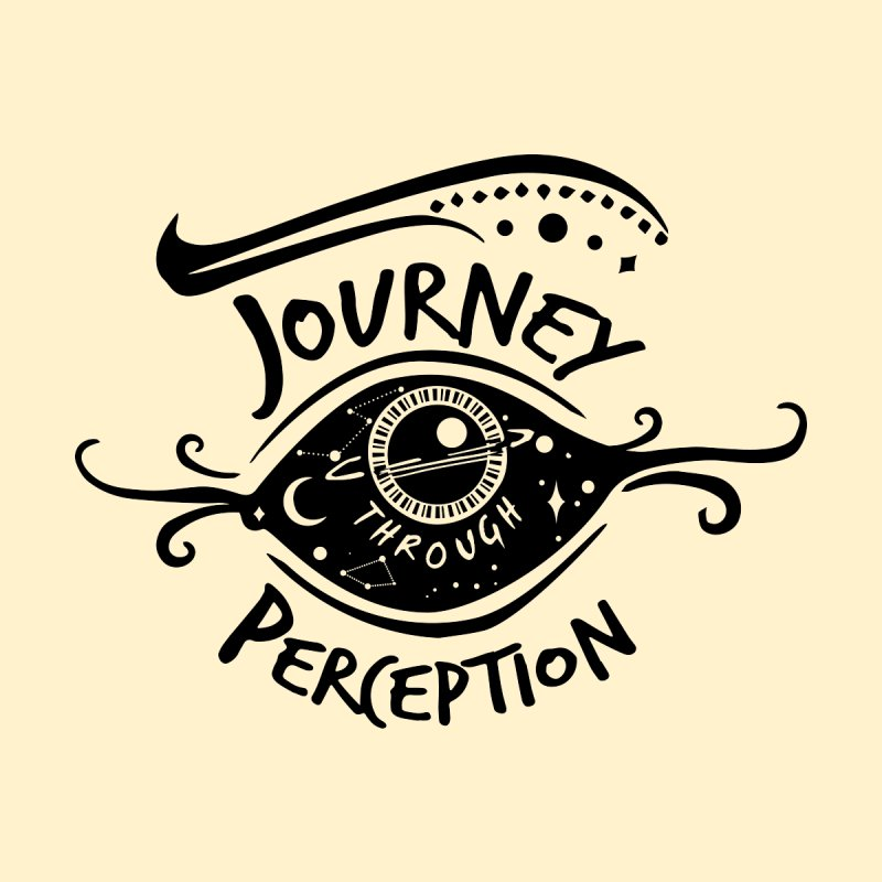 Journey Through Perception (Through the eye of the beholder) Accessories Sticker by khaliqsim's Artist Shop