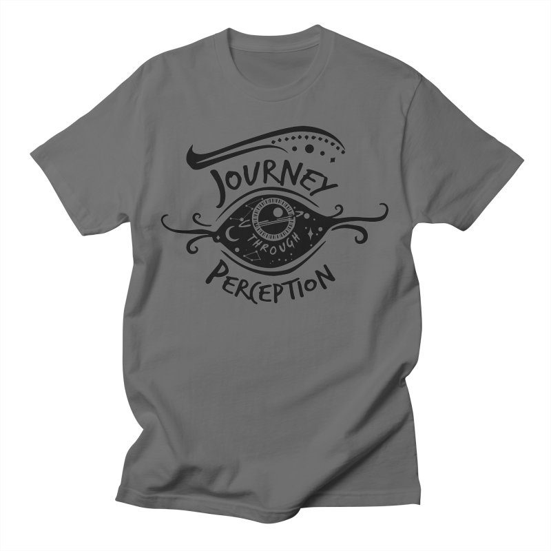 Journey Through Perception (Through the eye of the beholder) Men's T-Shirt by khaliqsim's Artist Shop