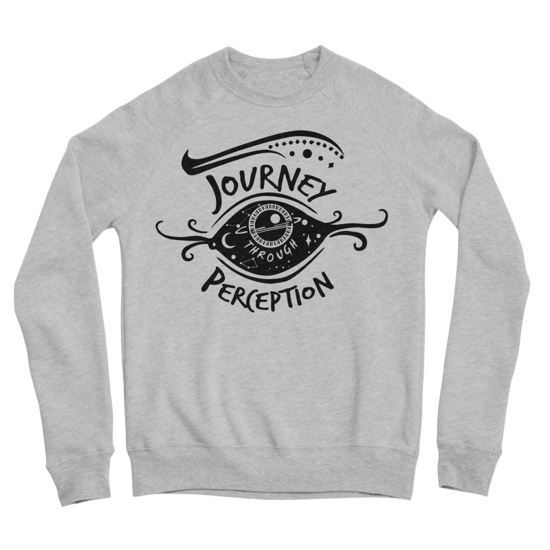 Journey Through Perception (Through the eye of the beholder) Women's Sponge Fleece Sweatshirt by khaliqsim's Artist Shop
