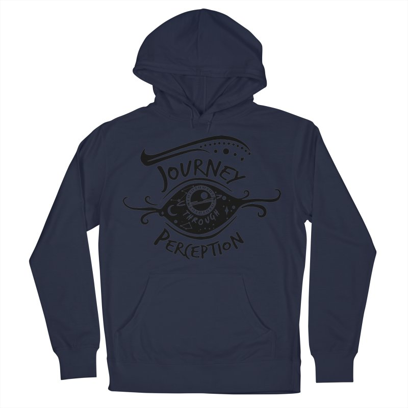 Journey Through Perception (Through the eye of the beholder) Men's Pullover Hoody by khaliqsim's Artist Shop