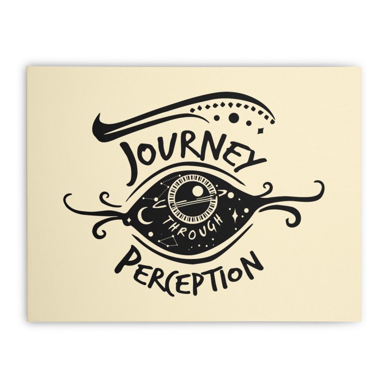 Journey Through Perception (Through the eye of the beholder) Home Stretched Canvas by khaliqsim's Artist Shop