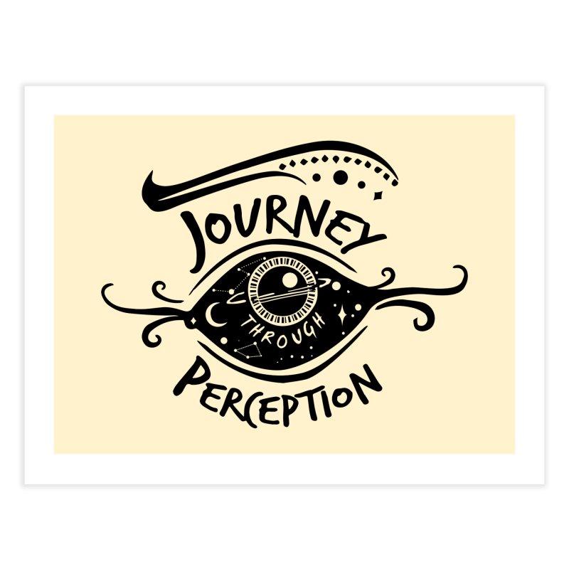Journey Through Perception (Through the eye of the beholder) Home Fine Art Print by khaliqsim's Artist Shop