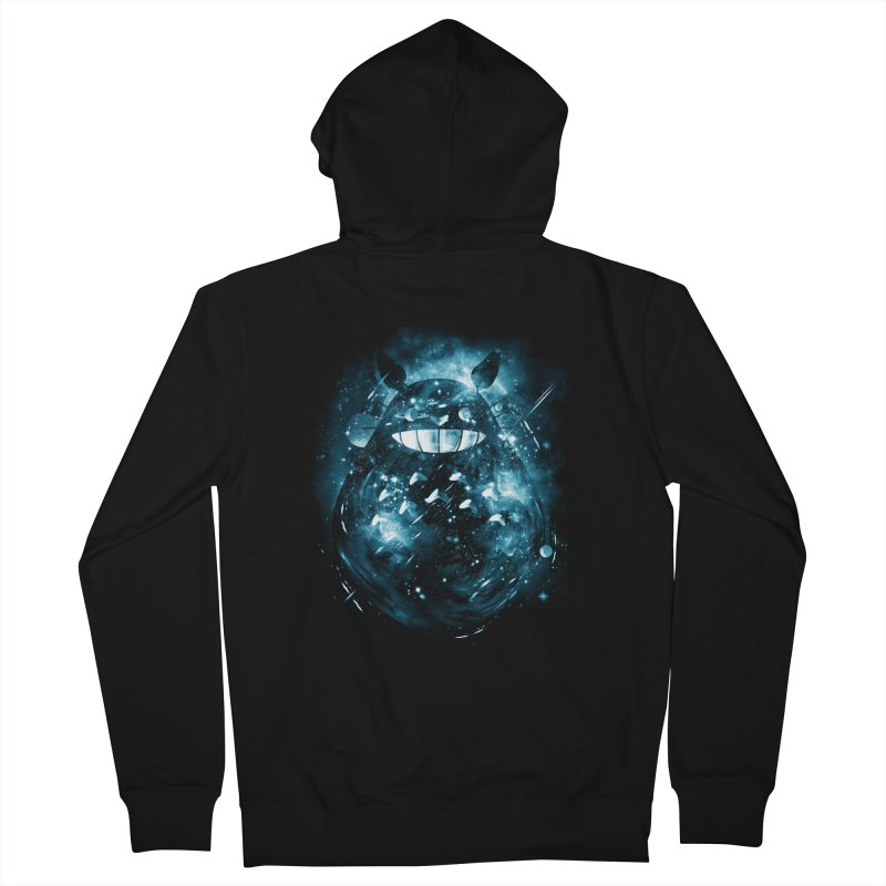 the big friend nebula Men's Zip-Up Hoody by kharmazero's Artist Shop