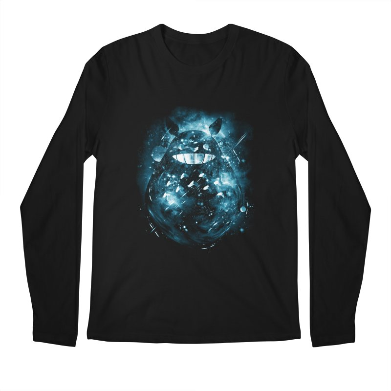 the big friend nebula Men's Longsleeve T-Shirt by kharmazero's Artist Shop