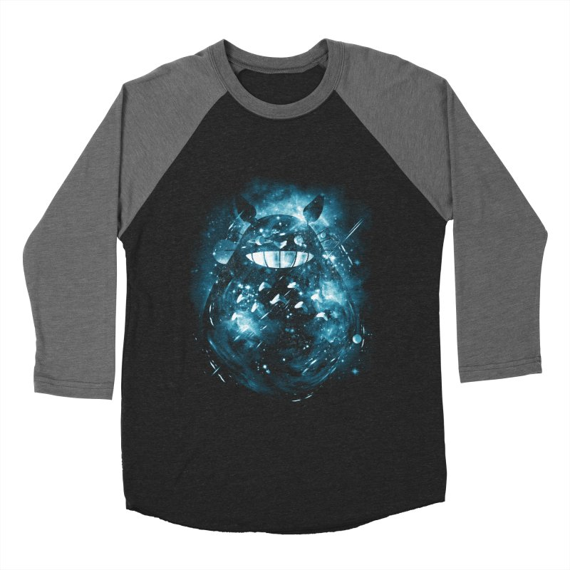 the big friend nebula Women's Baseball Triblend T-Shirt by kharmazero's Artist Shop