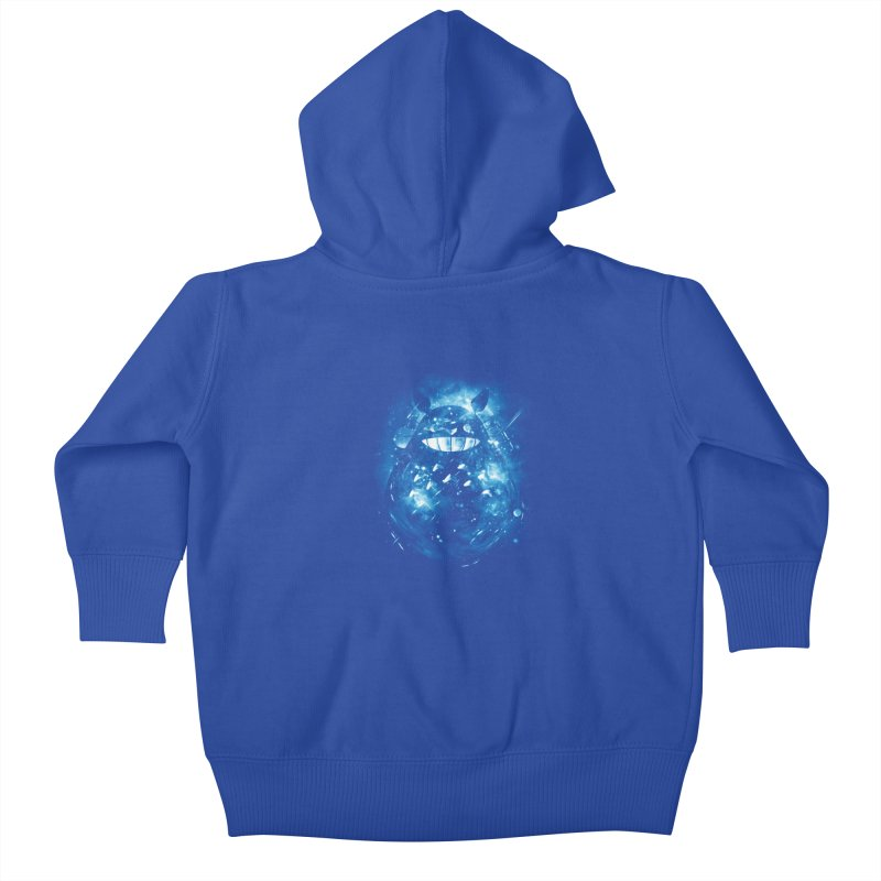 the big friend nebula Kids Baby Zip-Up Hoody by kharmazero's Artist Shop