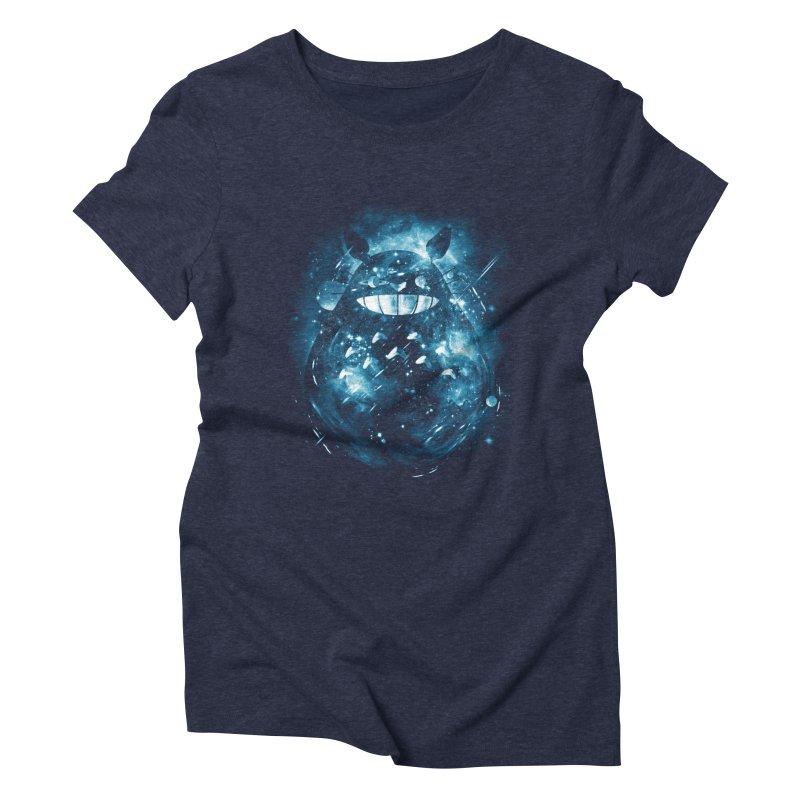 the big friend nebula Women's Triblend T-shirt by kharmazero's Artist Shop