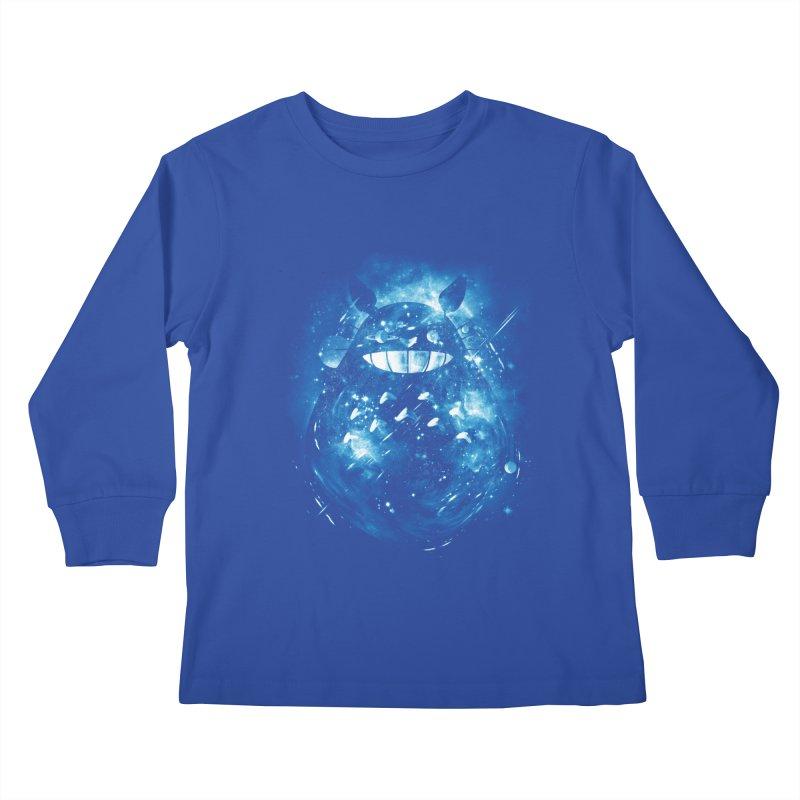 the big friend nebula Kids Longsleeve T-Shirt by kharmazero's Artist Shop