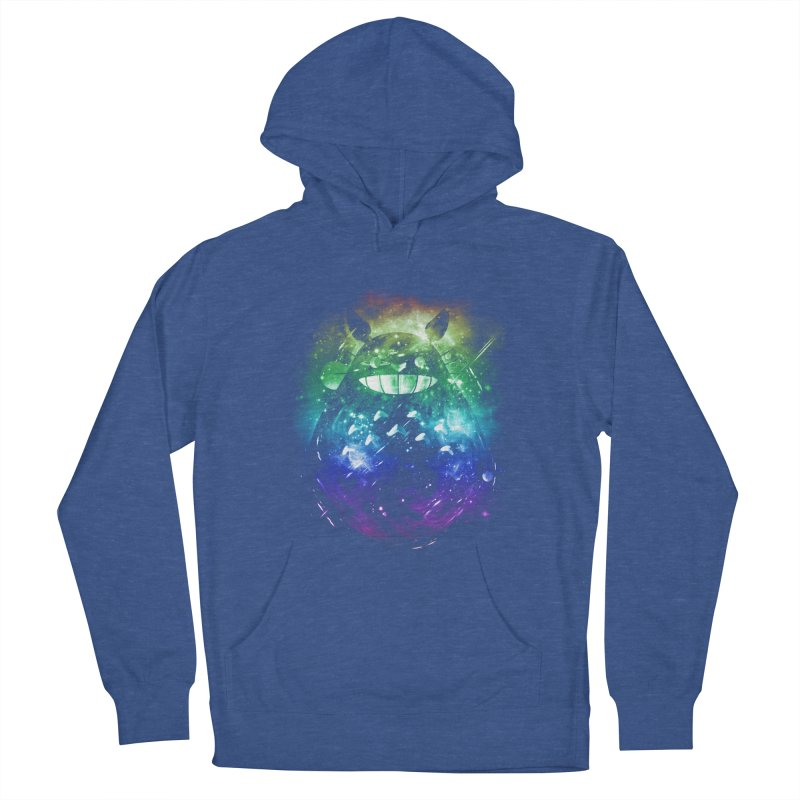 the big friend nebula - rainbow version Women's Pullover Hoody by kharmazero's Artist Shop