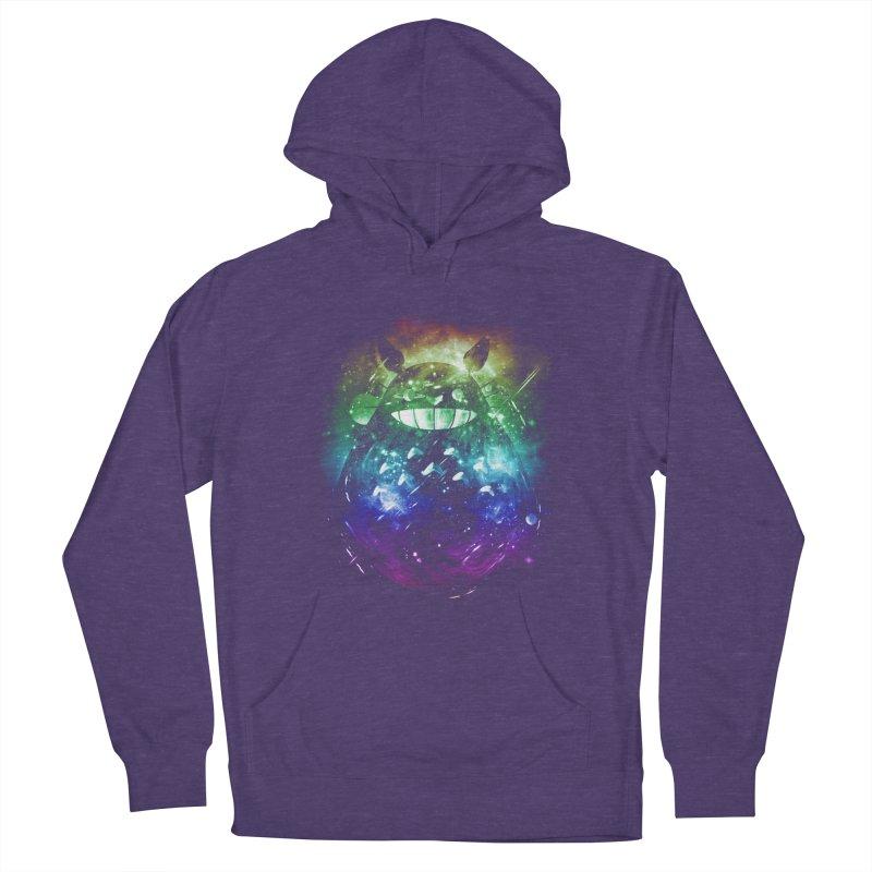the big friend nebula - rainbow version Men's Pullover Hoody by kharmazero's Artist Shop