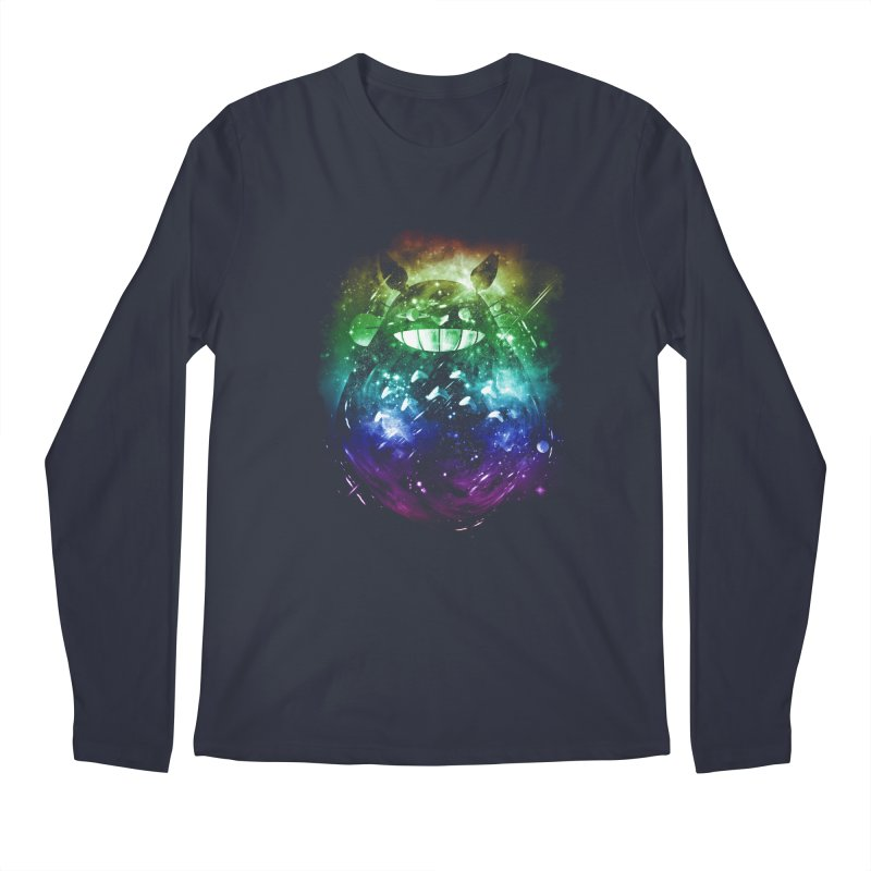 the big friend nebula - rainbow version Men's Longsleeve T-Shirt by kharmazero's Artist Shop