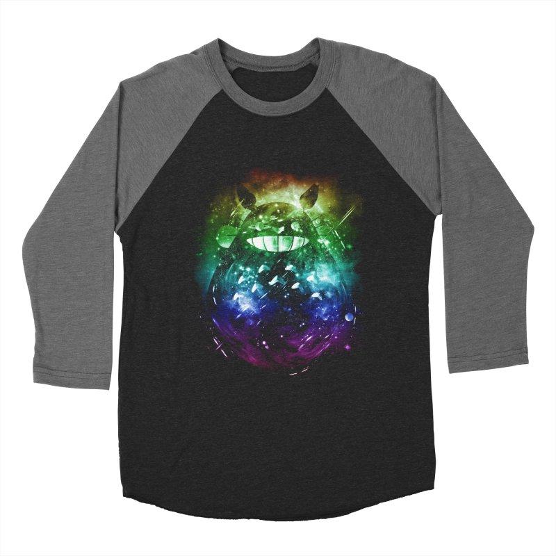 the big friend nebula - rainbow version Men's Baseball Triblend T-Shirt by kharmazero's Artist Shop