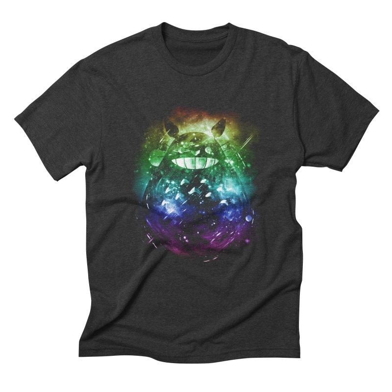 the big friend nebula - rainbow version Men's Triblend T-shirt by kharmazero's Artist Shop