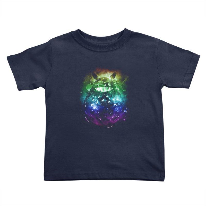 the big friend nebula - rainbow version Kids Toddler T-Shirt by kharmazero's Artist Shop