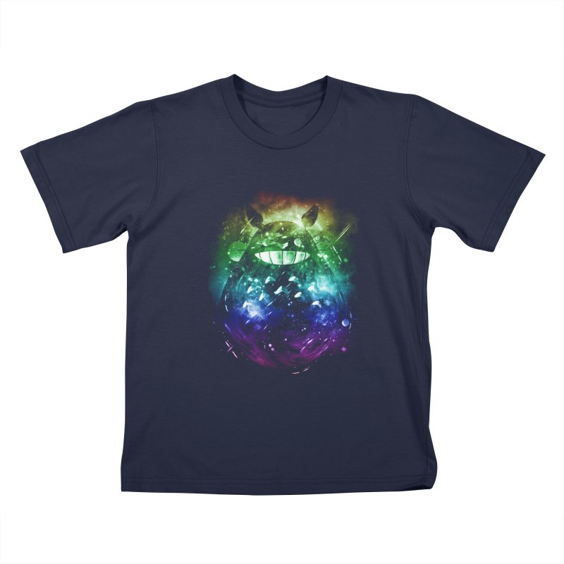 the big friend nebula - rainbow version Kids T-shirt by kharmazero's Artist Shop