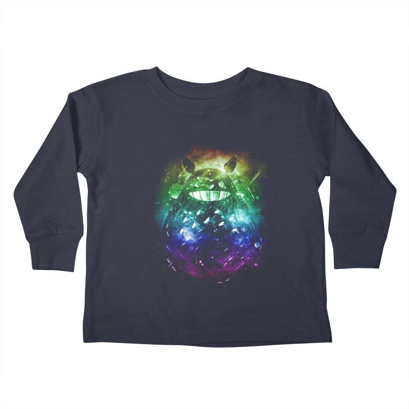 the big friend nebula - rainbow version Kids Toddler Longsleeve T-Shirt by kharmazero's Artist Shop