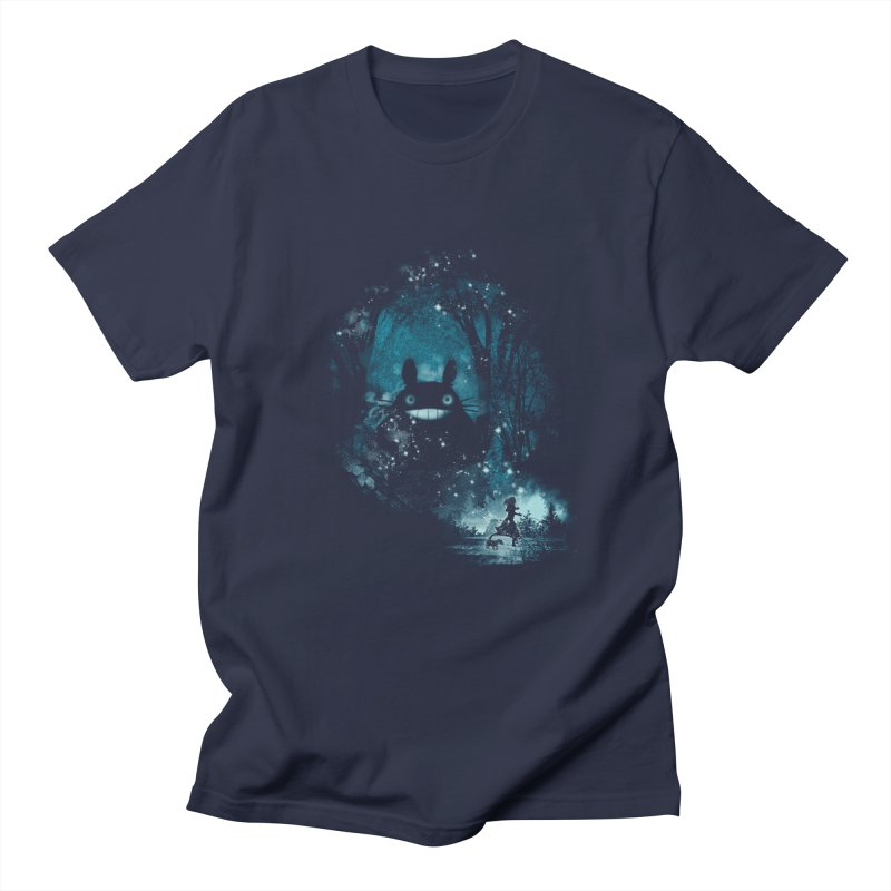 The Big Friend in Men's T-shirt Navy by kharmazero's Artist Shop