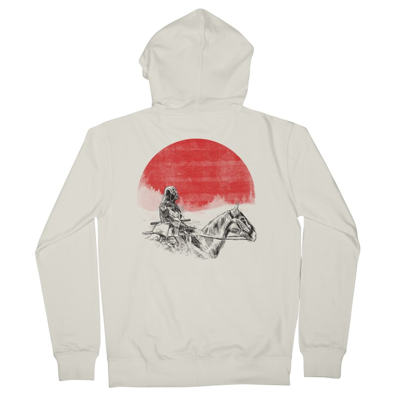 lost samurai Men's Zip-Up Hoody by kharmazero's Artist Shop