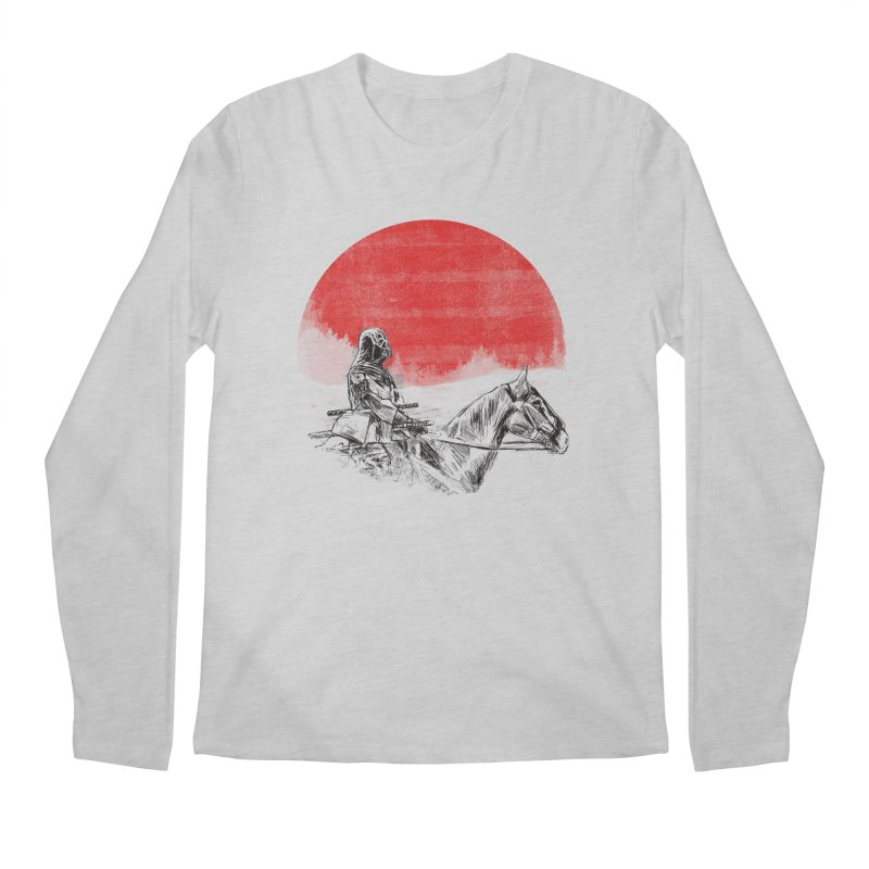 lost samurai Men's Longsleeve T-Shirt by kharmazero's Artist Shop