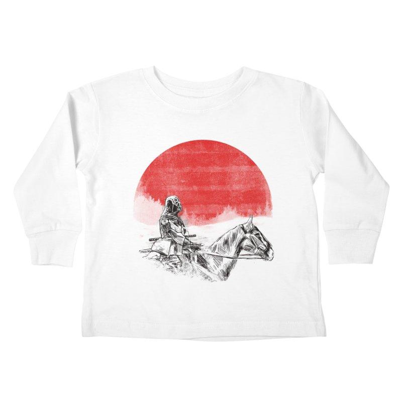 lost samurai Kids Toddler Longsleeve T-Shirt by kharmazero's Artist Shop