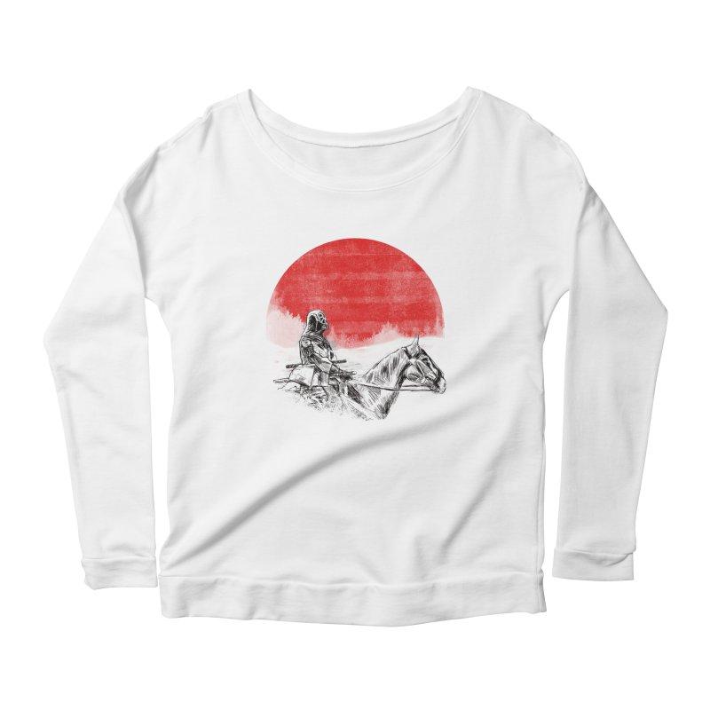 lost samurai Women's Longsleeve Scoopneck  by kharmazero's Artist Shop