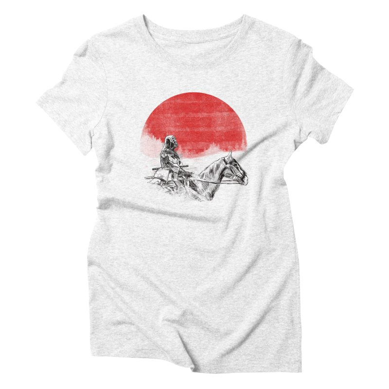 lost samurai Women's Triblend T-shirt by kharmazero's Artist Shop