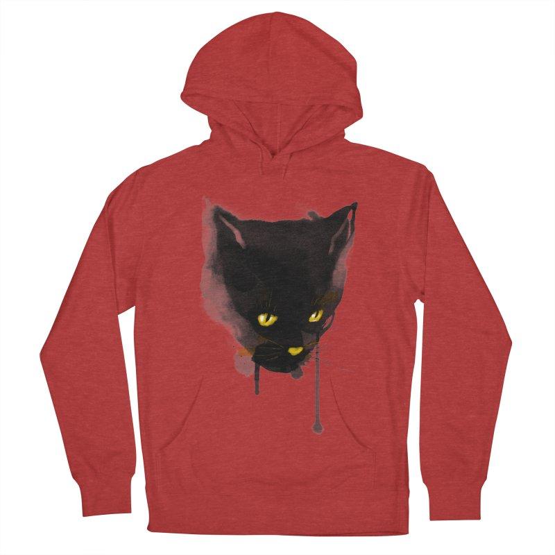 sumi cat Women's Pullover Hoody by kharmazero's Artist Shop