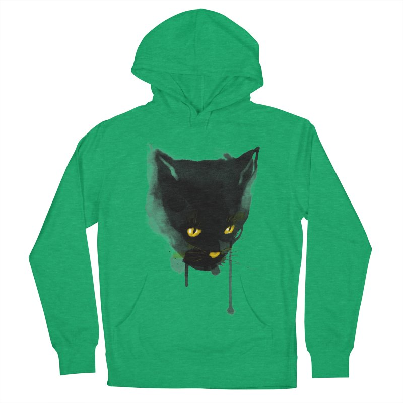 sumi cat Men's Pullover Hoody by kharmazero's Artist Shop