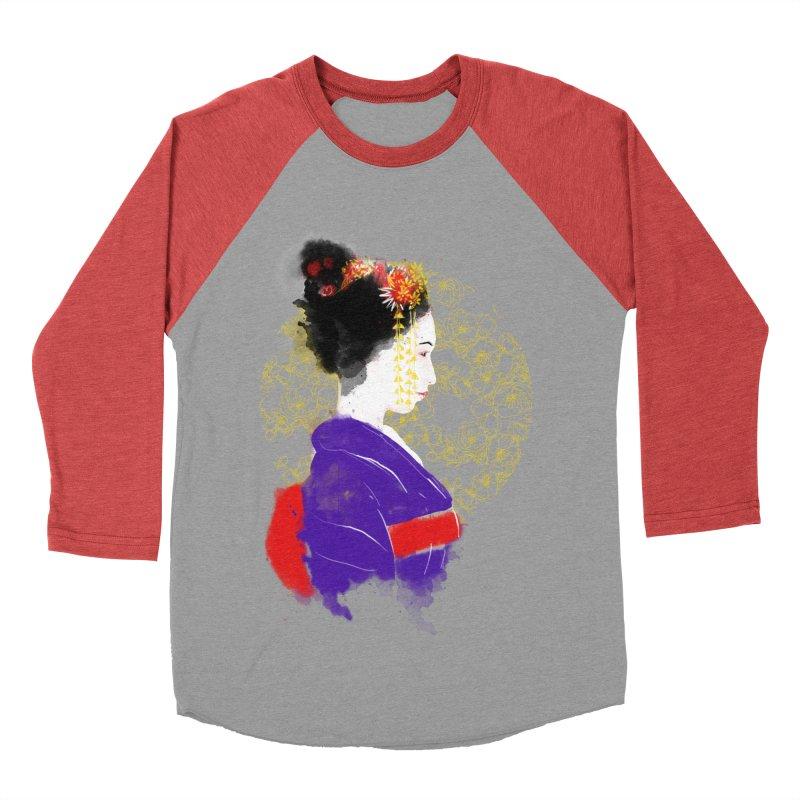 geishartistic Women's Baseball Triblend T-Shirt by kharmazero's Artist Shop