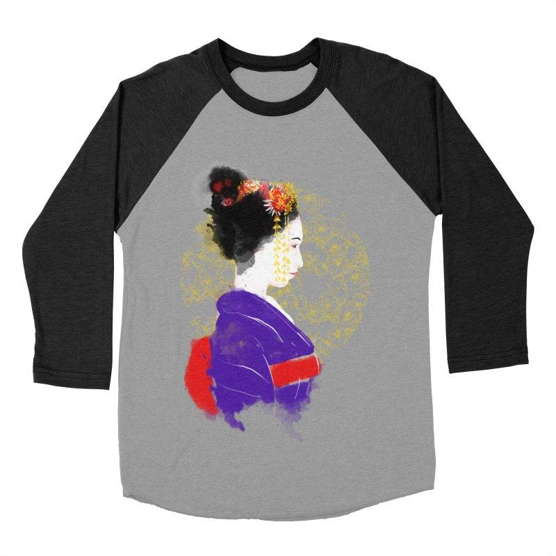 geishartistic Men's Baseball Triblend T-Shirt by kharmazero's Artist Shop