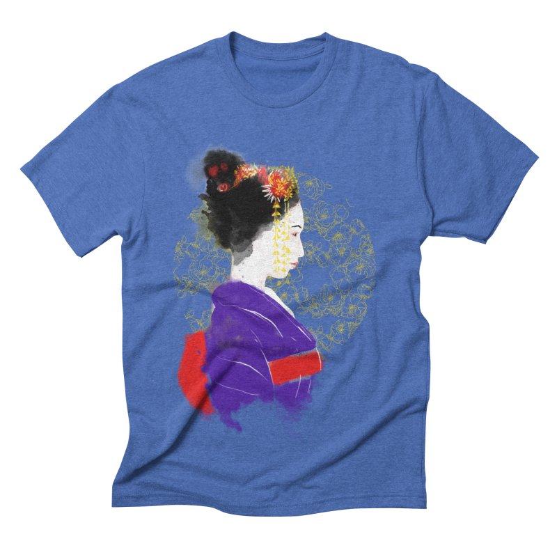 geishartistic Men's Triblend T-shirt by kharmazero's Artist Shop