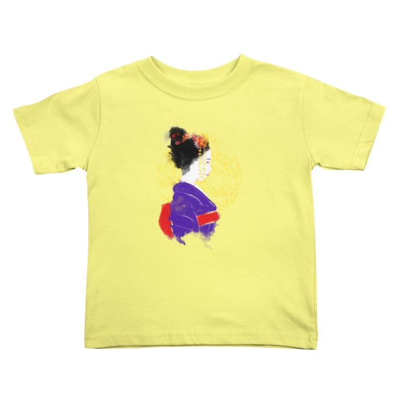 geishartistic Kids Toddler T-Shirt by kharmazero's Artist Shop