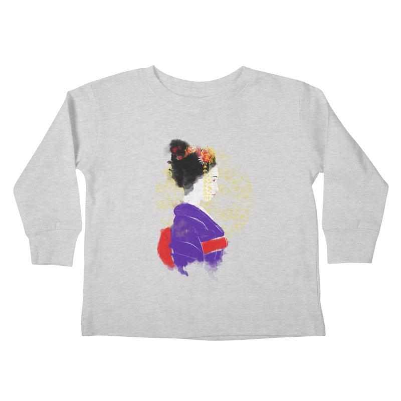 geishartistic Kids Toddler Longsleeve T-Shirt by kharmazero's Artist Shop