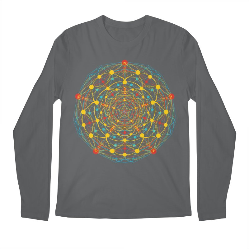 Neural Mandala 2 Men's Longsleeve T-Shirt by kharmazero's Artist Shop