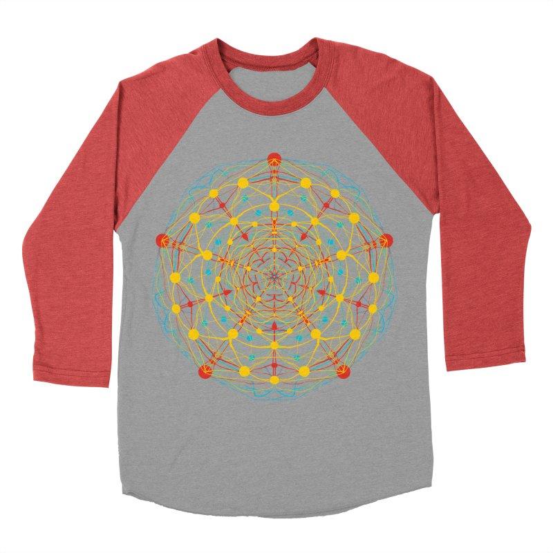 Neural Mandala 2 Women's Baseball Triblend T-Shirt by kharmazero's Artist Shop